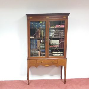 Antique_Edwardian_Bookcase