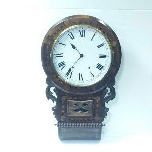 Antique_Edwardian_Drop_Dial_Wall_Clock