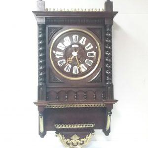 Antique_French_Mahogany_Wall_Clock