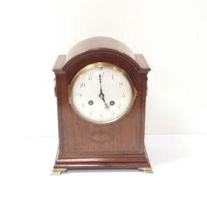 Antique_Edwardian_Mahogany_Mantle_Clock