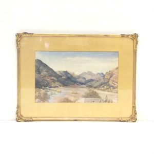 Antique Gilt_Framed_Water_Colour