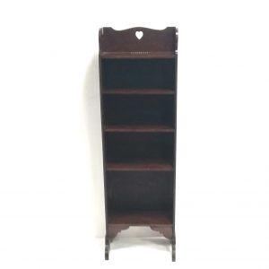 Antique_Style_Slimline_Open_Bookcase