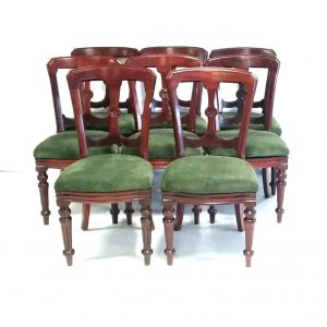 Antique Victorian Dining Chairs