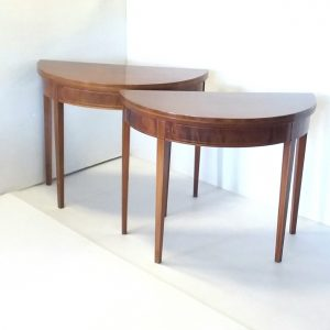Antique -Pair- Of -Tables