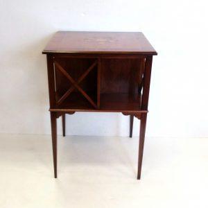 Walnut- Mahogany -Bookstand