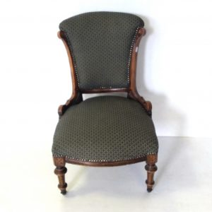 Antique- Victorian- Lady,s- Chair