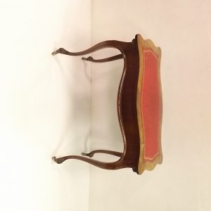 Antique Edwardian Walnut Inlaid Fold Over Games Table