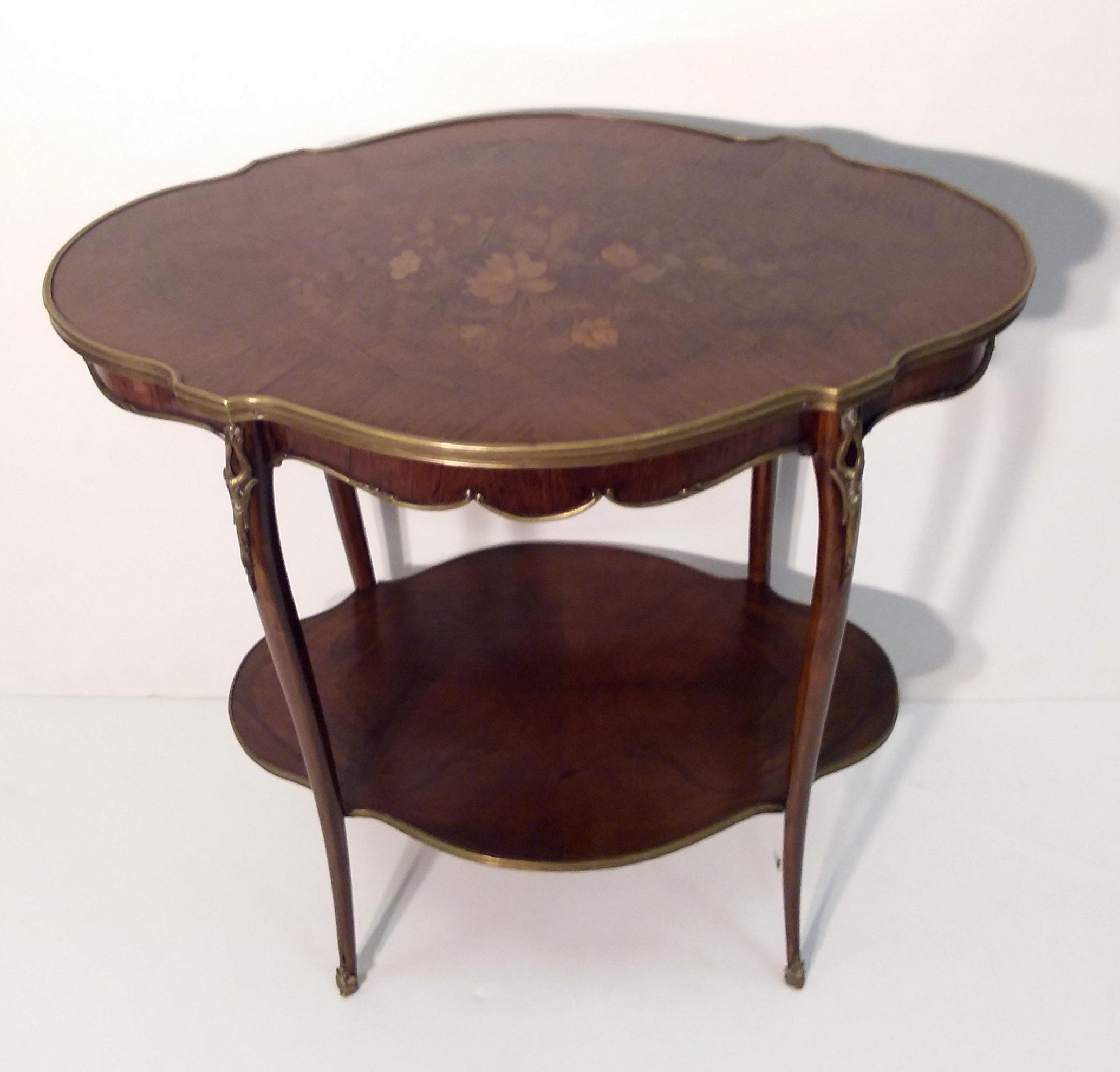 Antique Style French Ormolu Occasional Table – Reilly Antiques