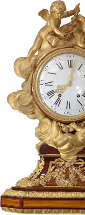 This is the image of antique clock. Do not touch this please!