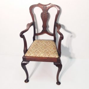 Antique Victorian Mahogany Childs Chair