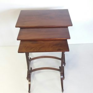 Antique Late Victorian Nest of Tables