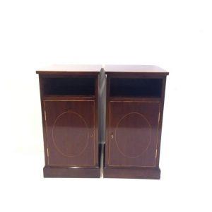 Antique Style Mahogany Lockers