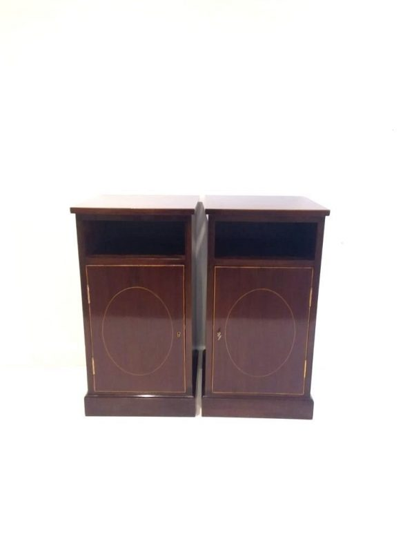 Antique Style Mahogany Lockers