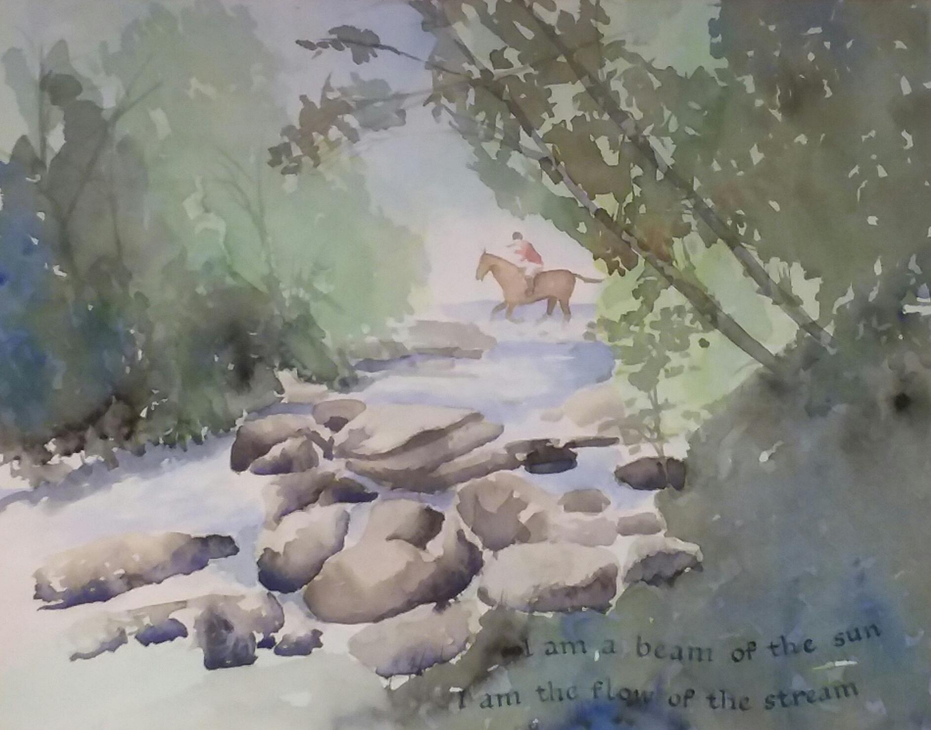 Watercolour by Ann O Cleary