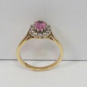 18ct Ruby & Diamod Ring