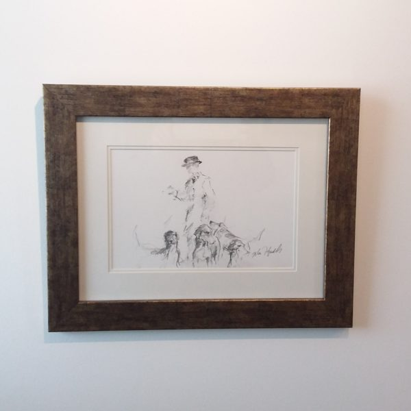 Pencil Sketch by John Fitzgerald