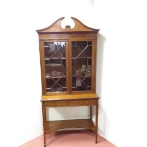 Antique_Edwardian_Secretaire_Bookcase