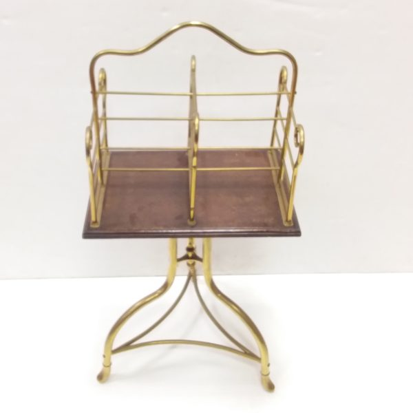 Antique Edwardian Revolving Book Stand