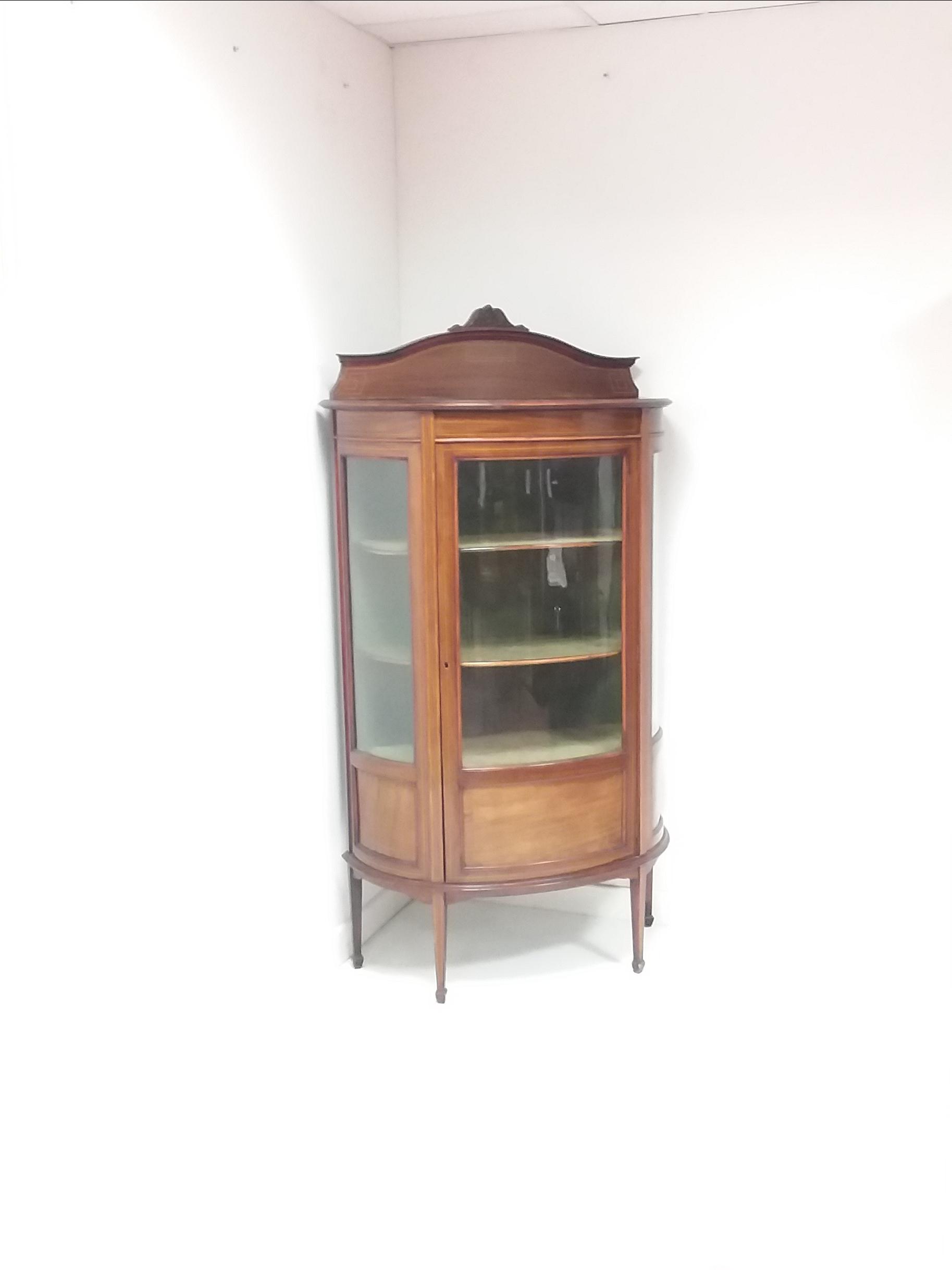 Antique_Edwardian_Inlaid_Cabinet