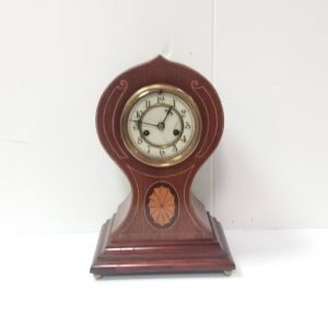 Antique Edwardian_Waistline_Mantel_Clock