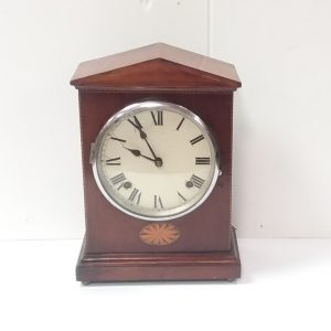 Antique_Edwardian_Mahogany_Mantle_Clock