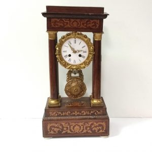 Antique_Biedermier_Mantle_Clock