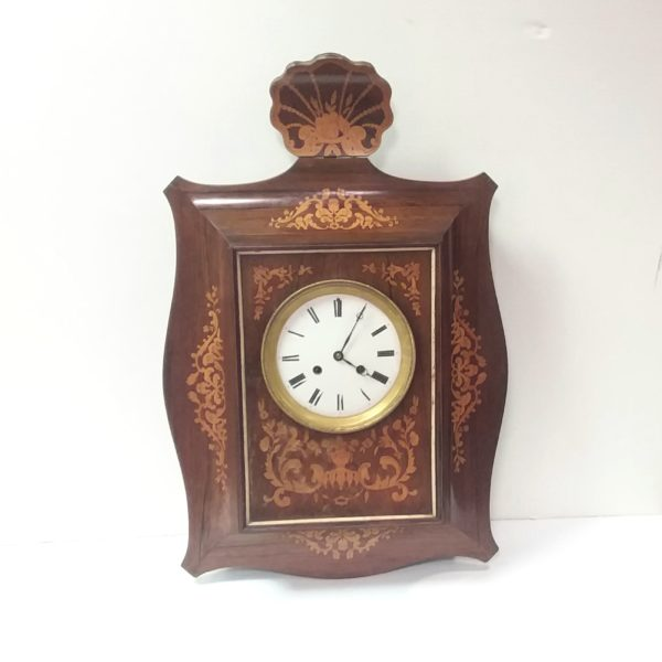 Antique Late Victorian French Wall Clock