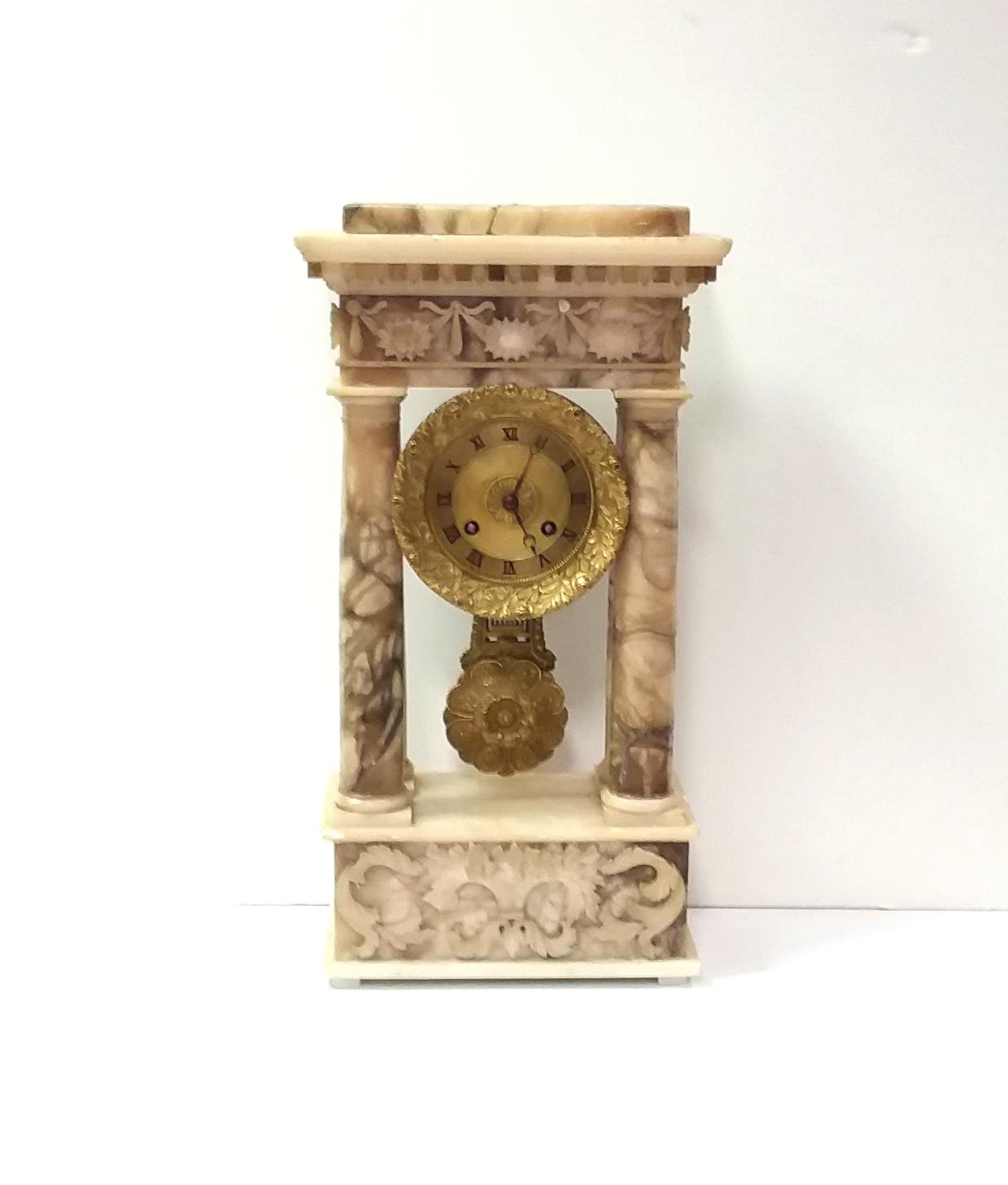 Antique_Victorian_Marble_Clock