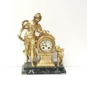 Antique_Victorian_Spelter_Clock