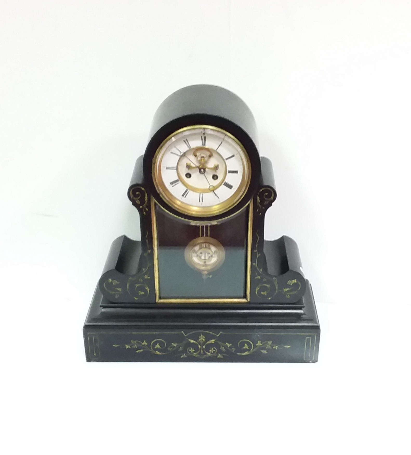 Antique_Victorian_Slate_Marble_Clock