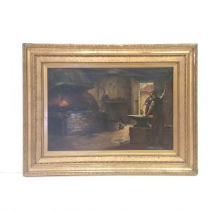 Antique_Gilt_Framed_Oil_on_Canvas