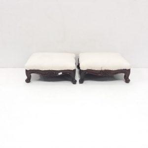Victorian Cabriole Leg Footstools