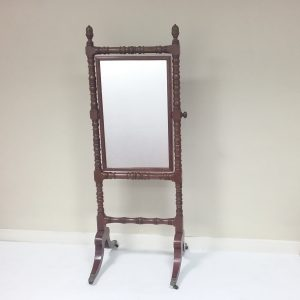 Antique Victorian- Cheval- Mirror