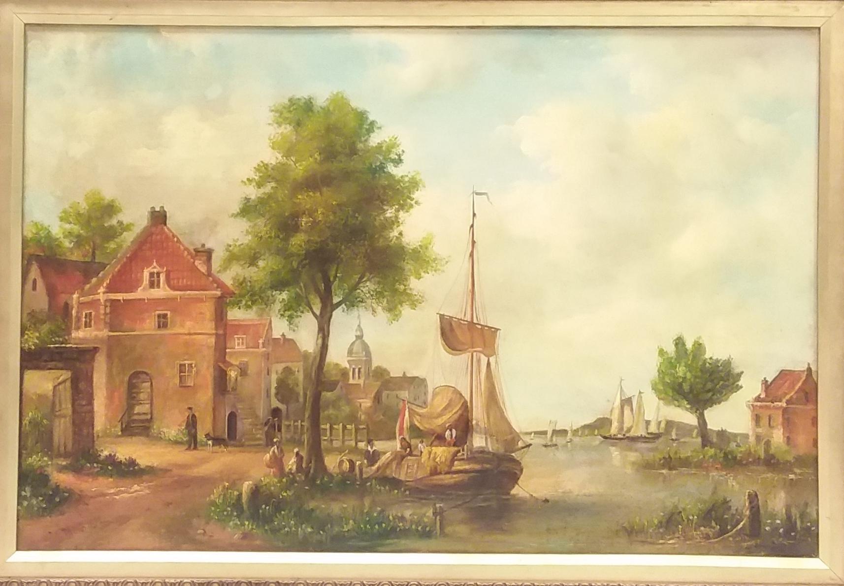 Antique- Oil -on- Canvas