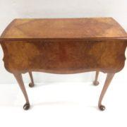 Edwardian- burr- walnut- table