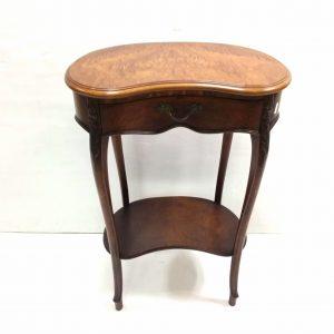 Mahogany- kidney- table