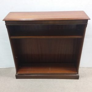 Mahogany- Open- Bookshelf