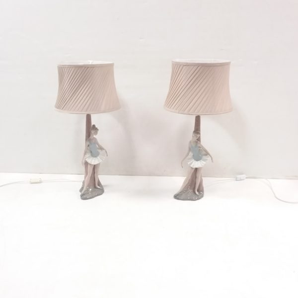 Pair of Decorative Nao Lamps