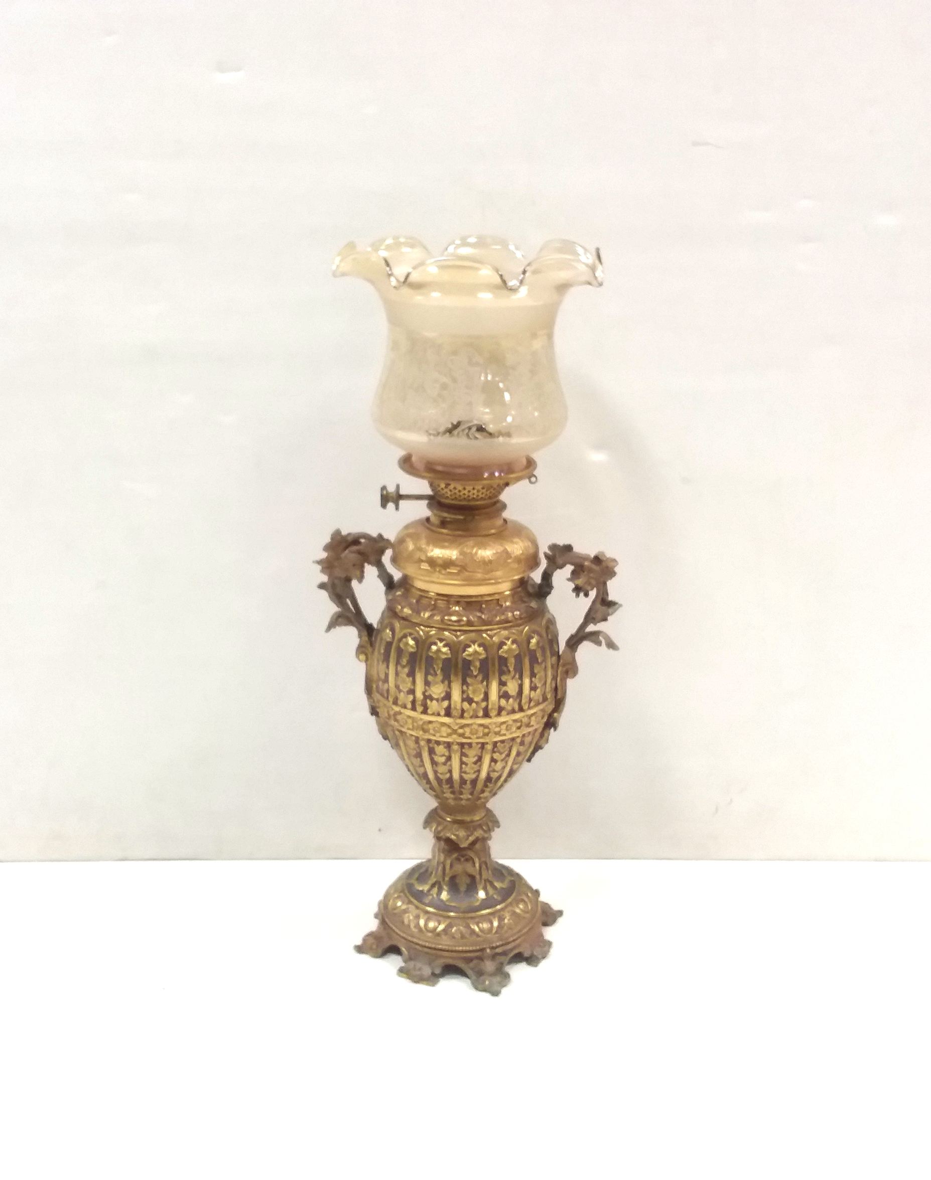 Antique_Victorian_Brass_Oil_Lamp