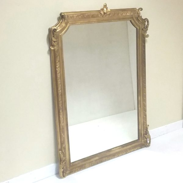 Antique 19th Century French Pier Mirror