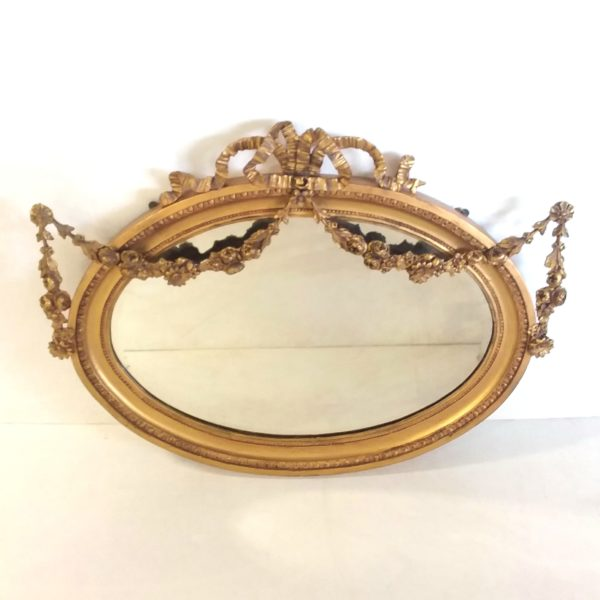 Antique Victorian Decorative Gilt Mirror