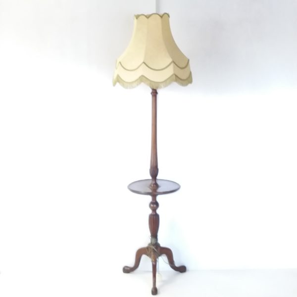 Antique Style  Standard Lamp & Shade