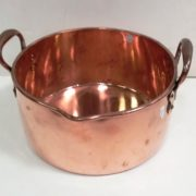 Antique Georgian- Copper- Pan -
