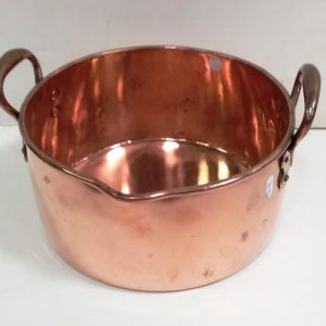 Antique Georgian- Copper- Pan -