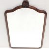 Antique Edwardian_Mahogany_Bevelled_Mirror