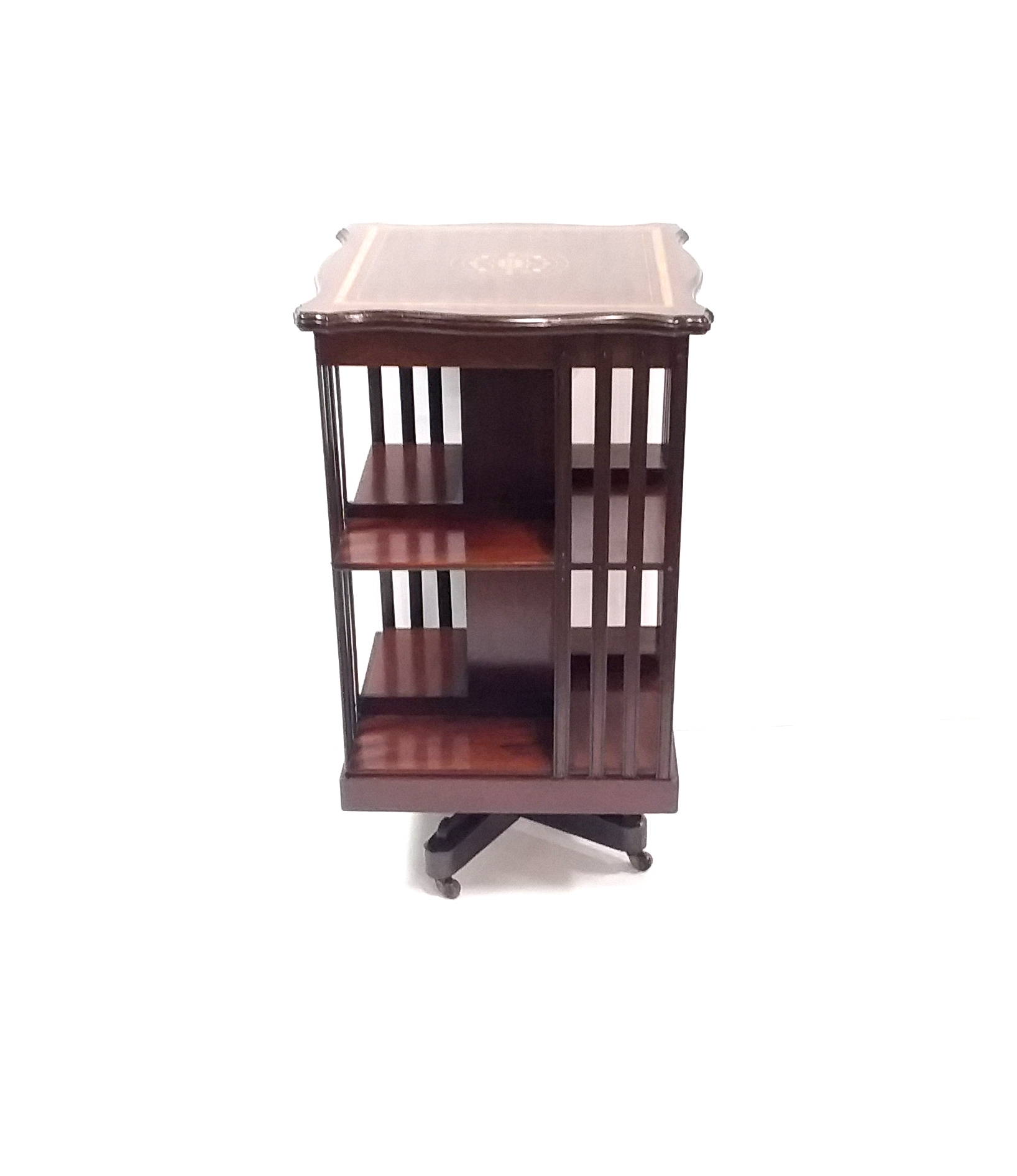 Antique_Edwardian_Revolving_Bookcase