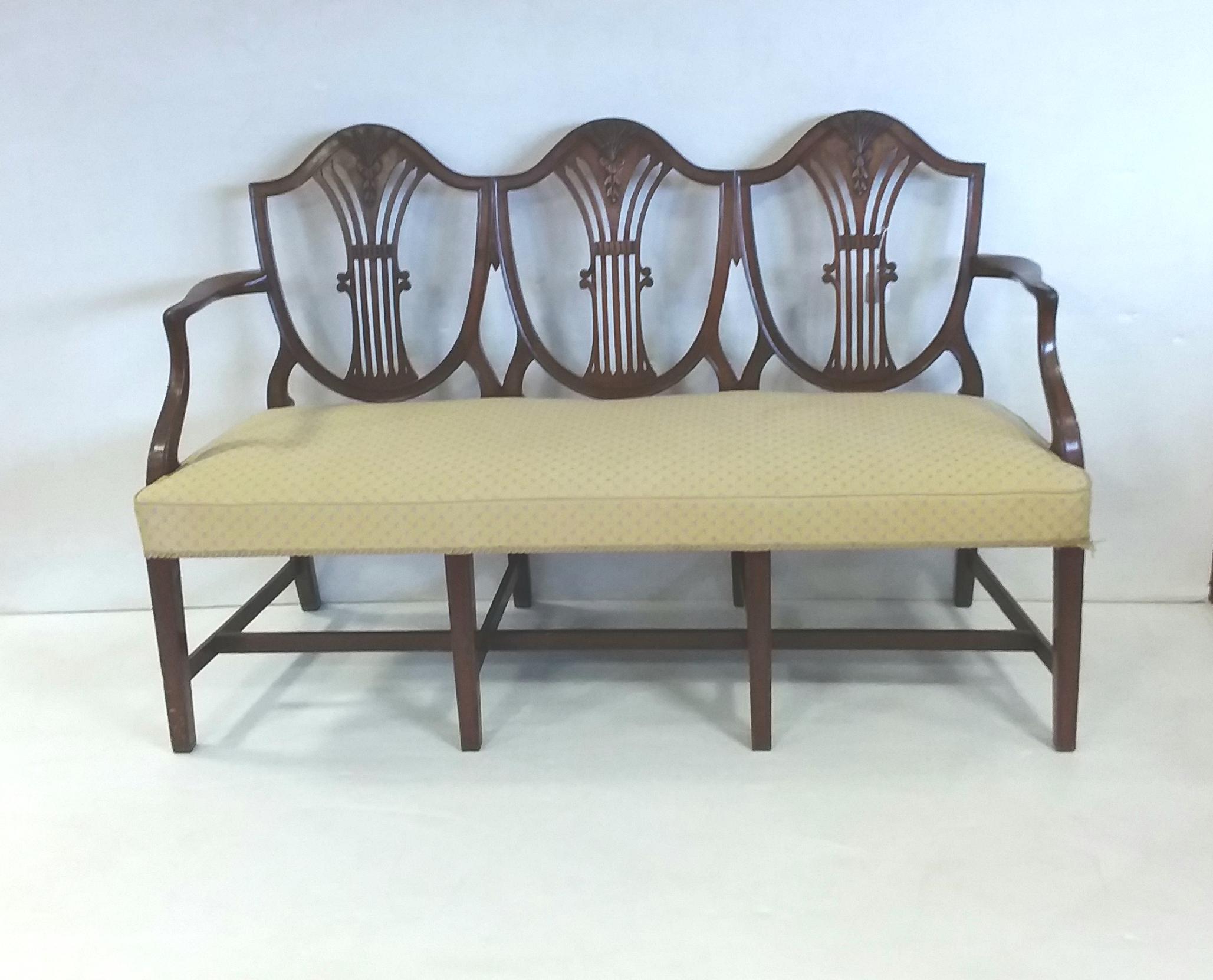Antique Edwardian Bench
