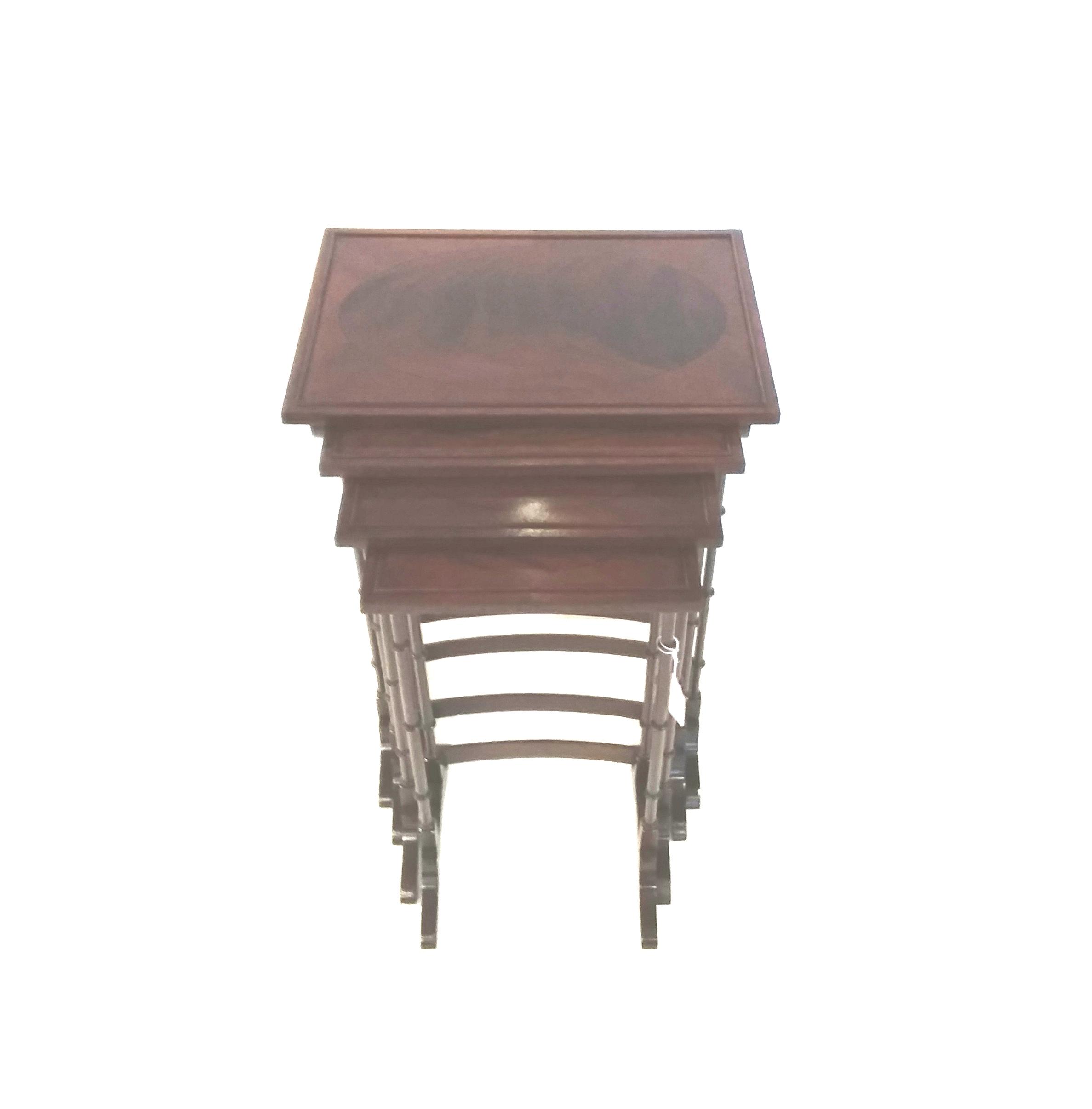 Antique Edwardian Nest of Tables