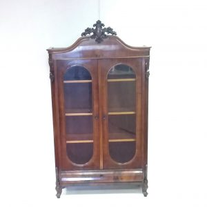 Antique Victorian Slimline Bookcase