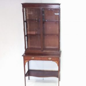 Antique Edwardian Silver Cabinet